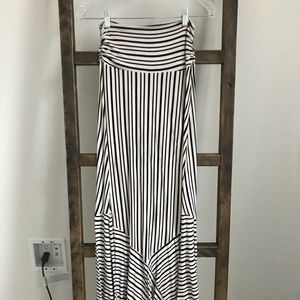 Maeve Maxi XS Striped Maxi Skirt